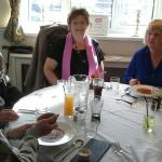 "Facebook ""Goldies Wales Over 50's"" lunch meet."