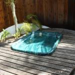 Jacuzzi privata in giardino