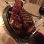 Porterhouse Steak for 3, cooked to perfection!!