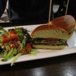 Grilled Portobello and Veggie Sandwich