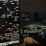 vue sur la Défense de nuit