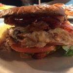 Turkey Bacon Gouda Sandwich