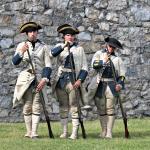 French Soldier Reenactors