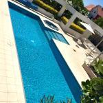 Excellent warm salt water pool