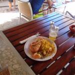 Paella en la playa