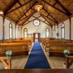 You can get married in our beautiful Church, built in 1911.