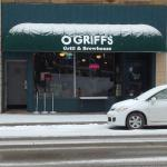 O'Griifs Grill & Brewhouse has its own microbrewery inside.