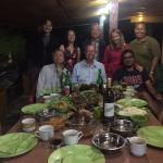 traditional batak chef on the extreme right Mian