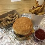 The Best Burger & Freshest Fries!