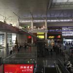 Shanghai Hongqiao Railway Station Foto