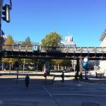 U-Bahnstation unmittelbar am Hotel