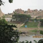 hampi river view