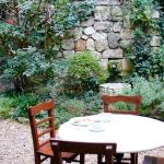 the garden where you can enjoy breakfast and complimentary afternoon appetizers