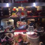 Valentine's cake cabinet