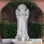 фонтан у входа в женскую часть хамама
