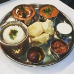 Lunchtime Thali