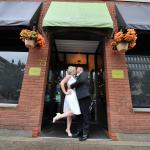 Amazing wedding reception at Groovy Tuesday's Bistro