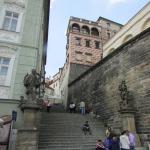 Escaleras de la calle Úvoz.