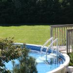 seasonal pool at jJust for You B&B