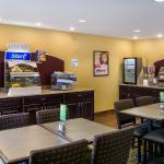 Breakfast bar includes a large variety of choices to be enjoyed!