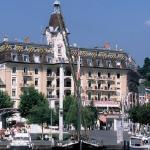Hotel Aulac en été