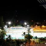 vue de nuit sur les tennis du Ouen Toro