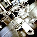 Light on the glassware