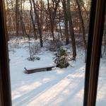 Walnut Ridge - Back Again - Winter Snow - Historic Wisconsin Hand Hewn Log Cabin - Platteville W