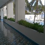 Corridor, relax & lobby area