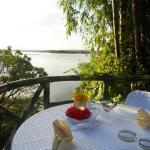 Poolside Dining with view of Angat River