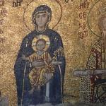 Mosaic of Madonna and Child Jesus in Ayasofya