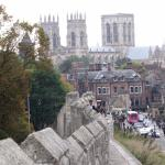 A view of the Minster from the Wall...