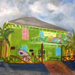 Painted on site Jan 2016 with my painting group Plein Air Palm Beach