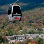 Loon Gondola Fall - The Village in Background
