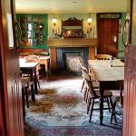 one of the two dining rooms. Authentic country style that could have been seen 100 years ago