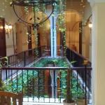 desde el lobby del segundo piso