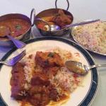 Lamb Madras and Pilau Rice