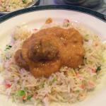 Lamb Korma and Pilau Rice