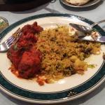 Garlic Chilli Chicken and Mushroom Rice