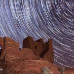 Night Sky Over Wukoki Pueblo, Wupatki National Monument, Arizona