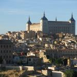 Good base for visiting Toledo (old city pictured)
