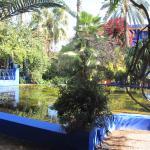 bassin devant la maison du peintre