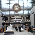 allée à l'intérieur du Musée d'Orsay : magnifique !
