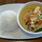 Red Chilli Thai - Red Chicken Curry with Rice