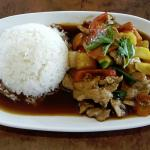 Red Chilli Thai - Sweet & Sour Pork with Rice