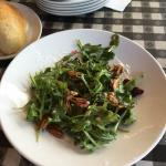 Candied Walnut & Blue Cheese salad