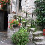 Escalier de la Résidence des Perles menant aux chambres