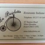 Foto van La Bicicletta