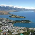 View from the peak above Queenstown