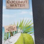 Gary brought lovely coconut water for after our beach walk